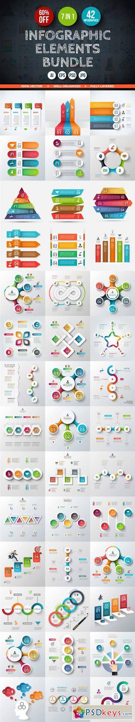 Best Infographic Elements | TemplateMonster