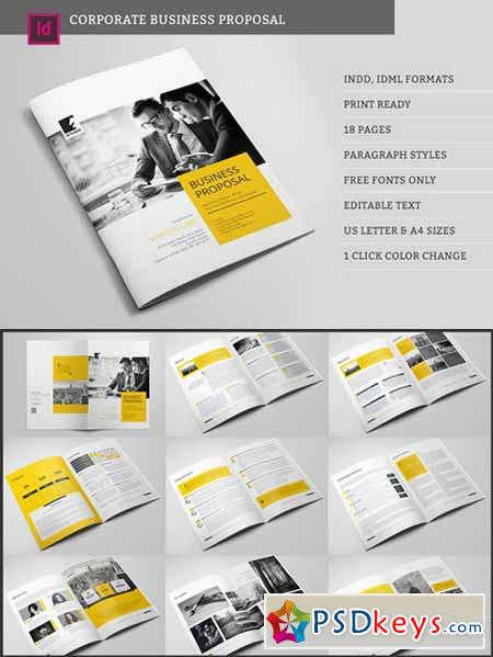 Corpo Business Proposal 465176 Free Download Photoshop Vector – Business Proposal Download