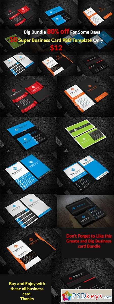 10 Creative Business Card Template 207656