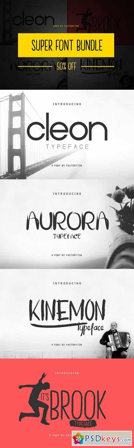 Super Font Bundle 571703