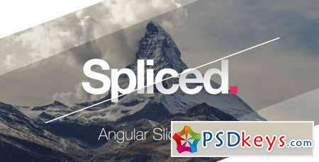 Spliced Angular Slideshow - After Effects Projects