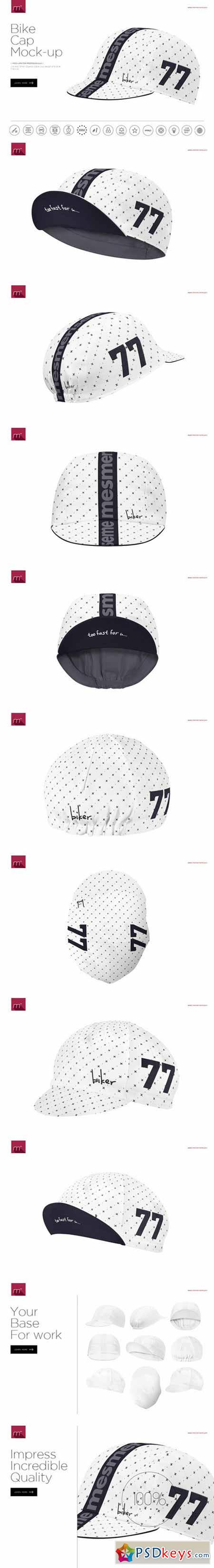 Bike Cap 2 Types Mock-up 525104 » Free Download Photoshop Vector ... 7fa9f9338