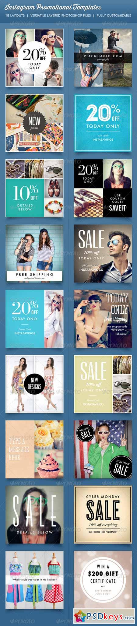 Instagram Promotional Template 6674714