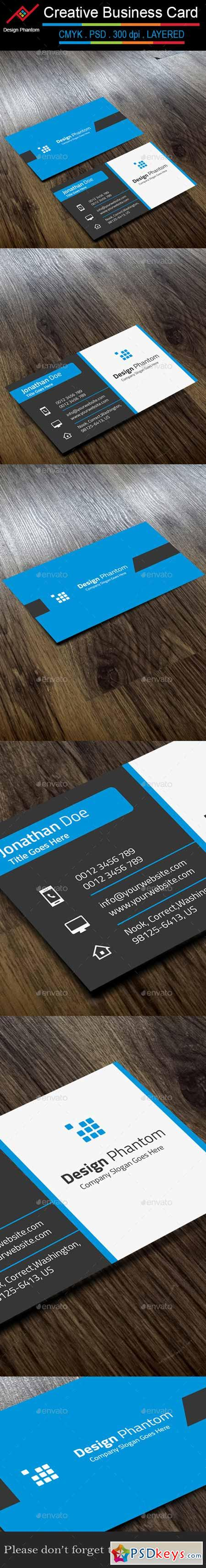 Creative Business Card 9678308