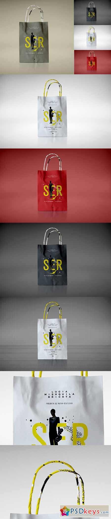 Shopping Bag Mock-up 492143