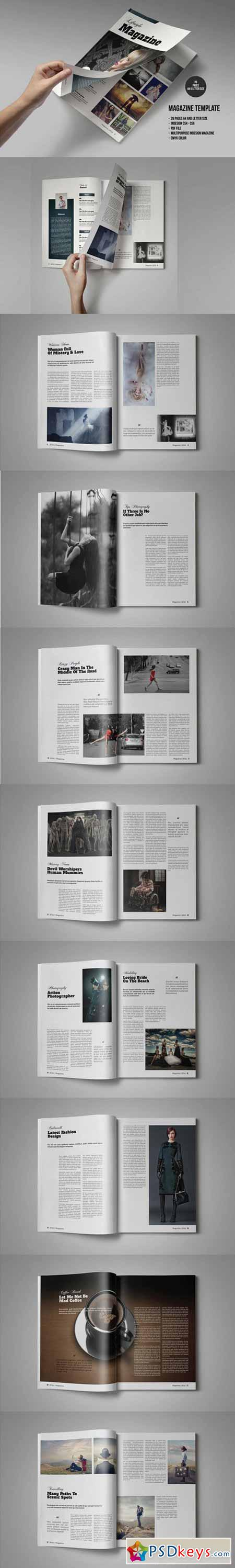 Multipurpose Magazine Template 470783