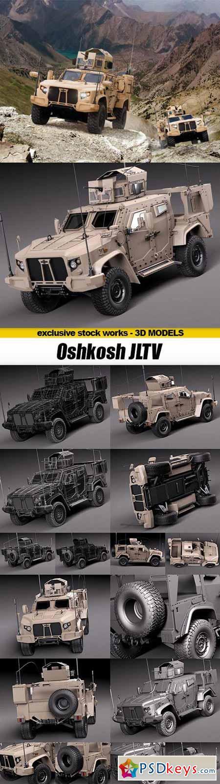GTRader 3D MODELS - Oshkosh JLTV