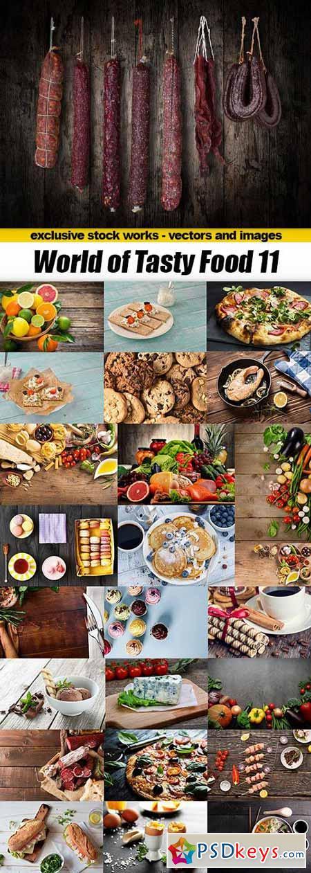 World of Tasty Food 11 - 25xUHQ JPEG