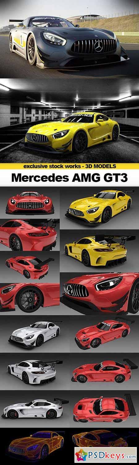 GTRader 3D MODELS - 2016 Mercedes AMG GT3