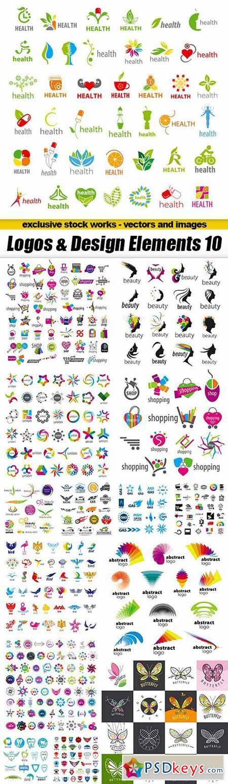 Logos & Design Elements 10 - 15xEPS