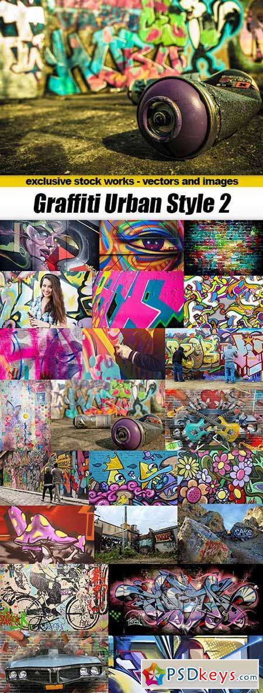 Graffiti Urban Style 2 - 25xUHQ JPEG