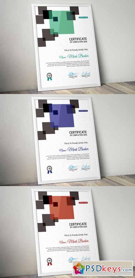 Certificate 561781