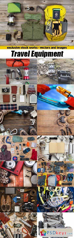 Travel Equipment - 15x JPEGs