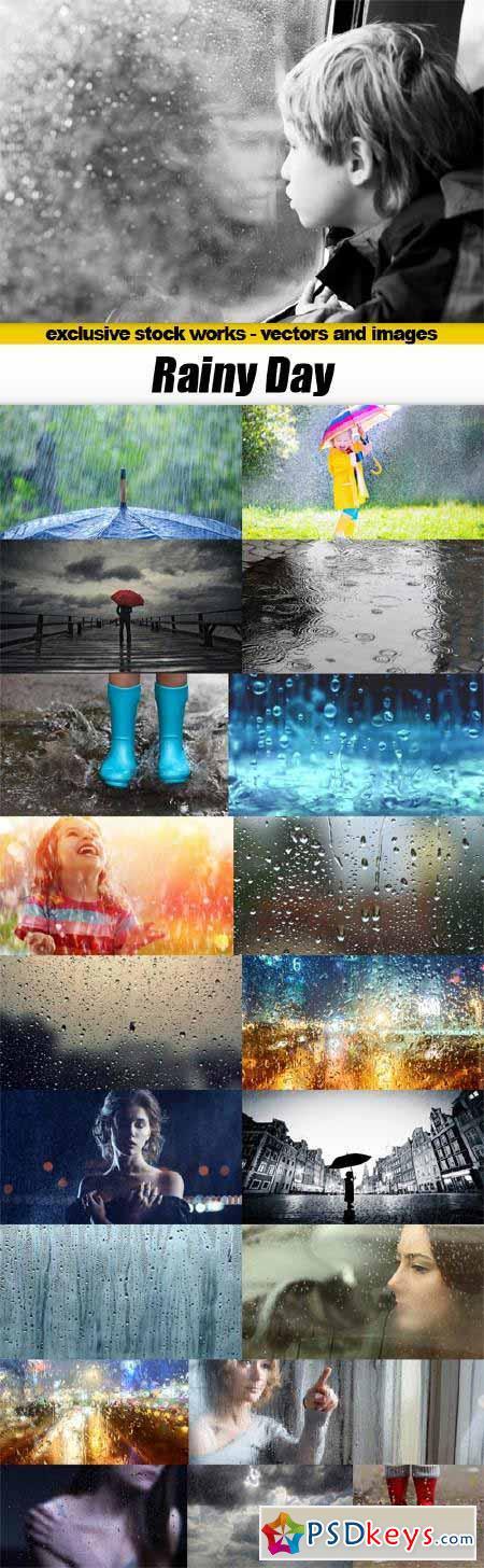 Rainy Day - 20x JPEGs