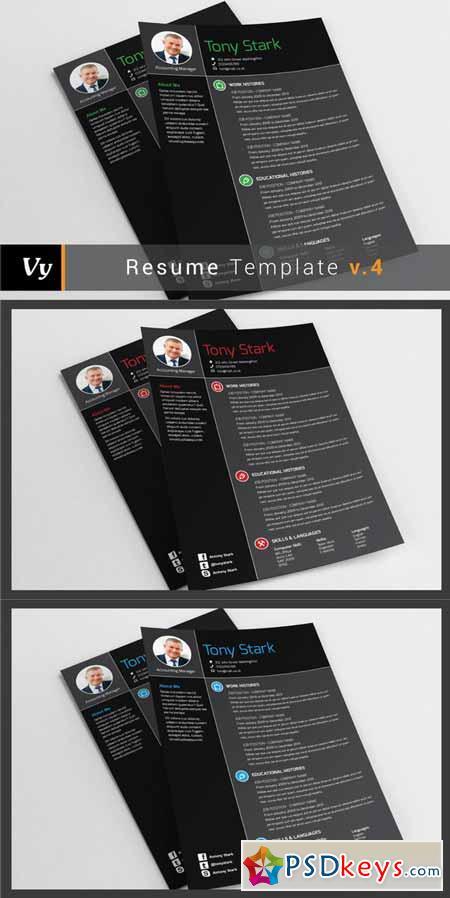 Resume Template v.04 109810
