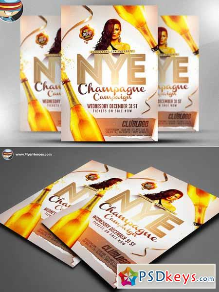 NYE Champagne Campaign Template 102443