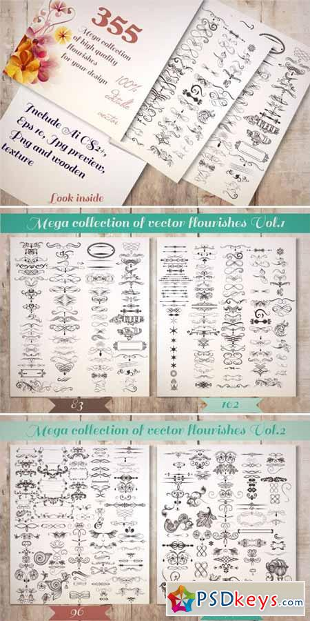Bundle of Vintage Flourishes 434860