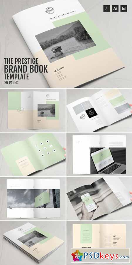 The Prestige  Brand Manual Template   Free Download