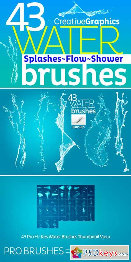 Water Brushes for Photoshop CS2-CC 222806