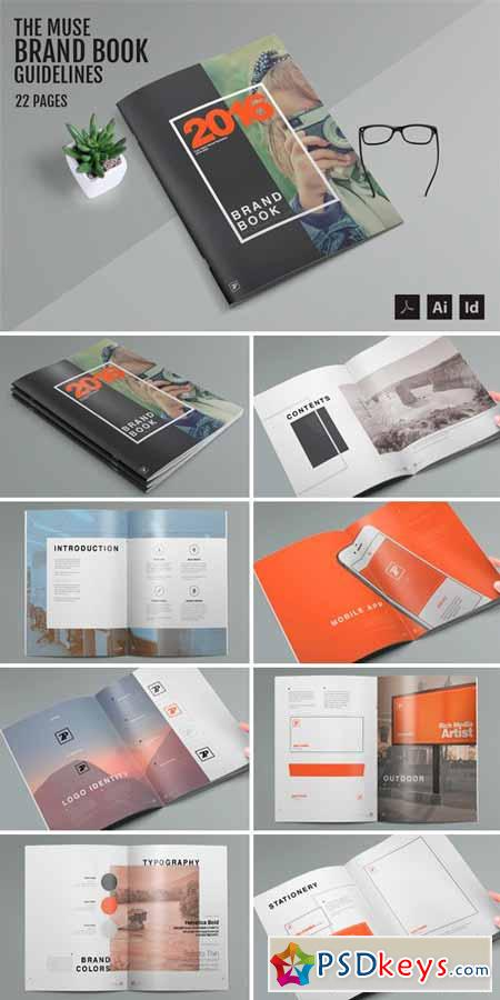 The Muse - Brand Guide Template 530396 » Free Download Photoshop ...