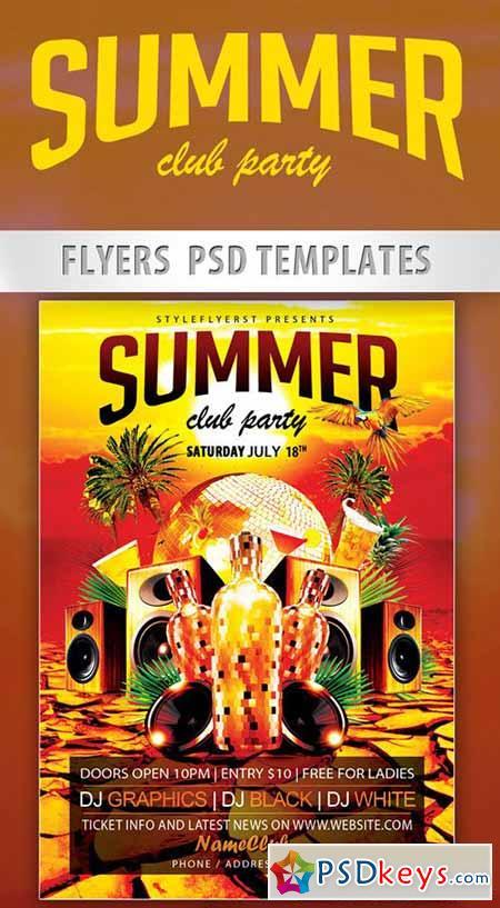 Psd Club Flyer Templates