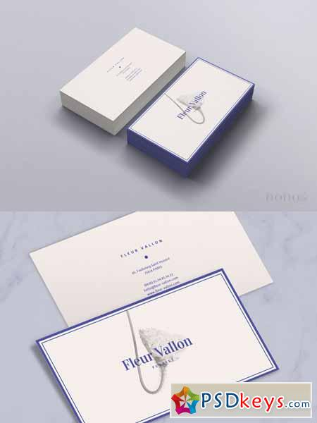 Business Card Beauty & Fashion Style 577715
