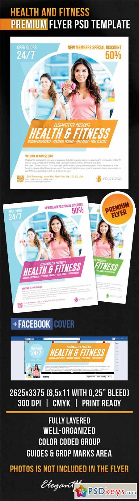 health and fitness flyer templates