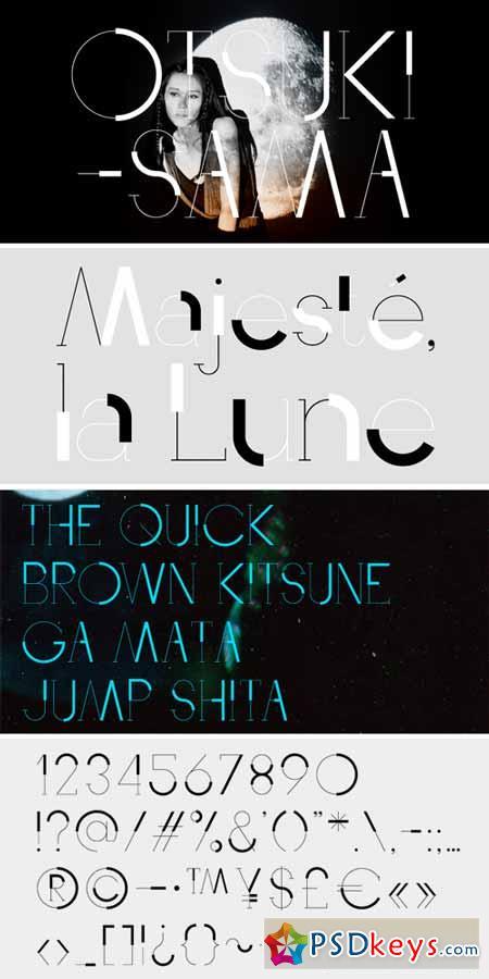 Otsuki Sama Font