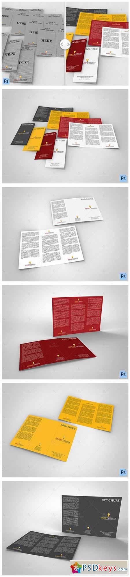 Brochure Trifold Mockup 580182
