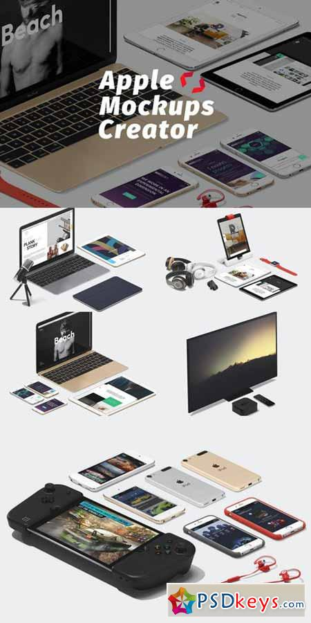 Apple Mockups creator 581217