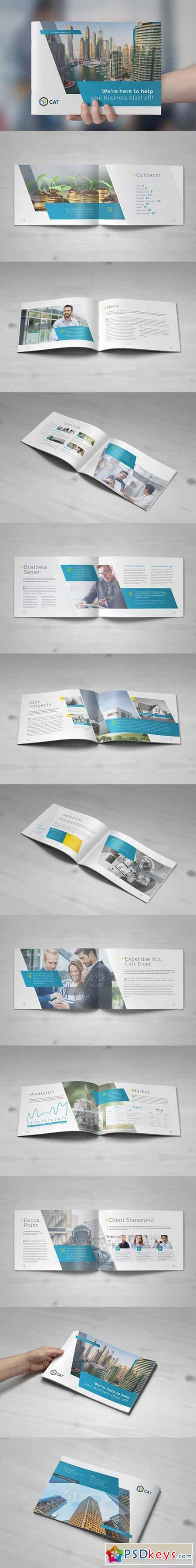 Business Brochure - Landscape Vol. 1 490756