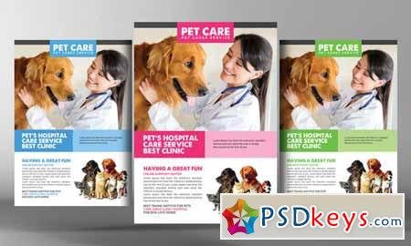 Dog Kennel & Pet Day Care Flyer 582372