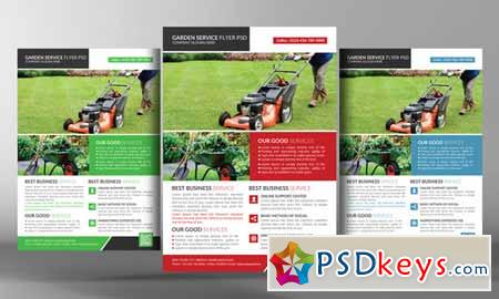Garden Services Flyer Template 582361