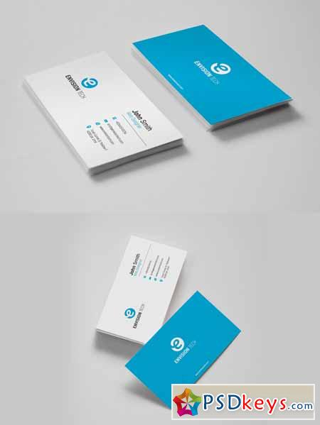 Simple Clean Business Card 581193
