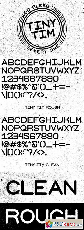 Tiny Tim Font Family 593607