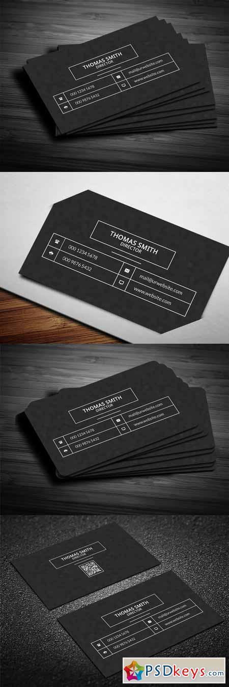 Modern dark pixels business card 585606 free download for Business card pixels