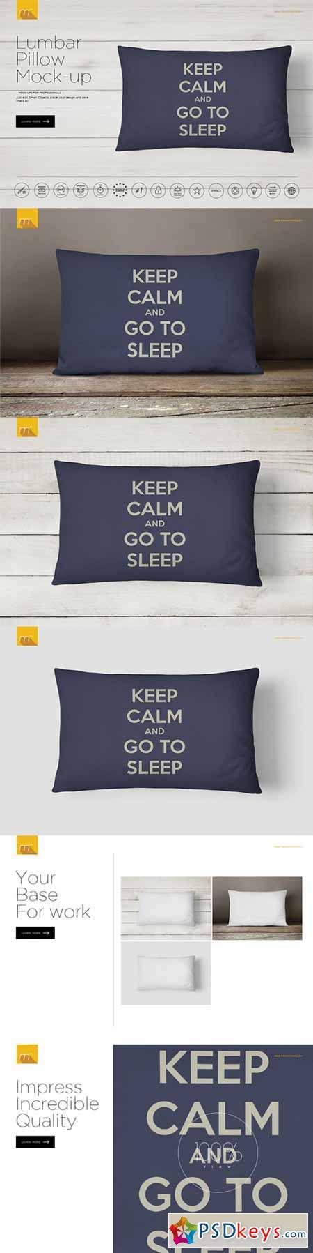 Lumbar Pillow Mock-up 482234