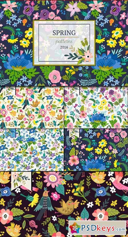 Spring patterns 562341