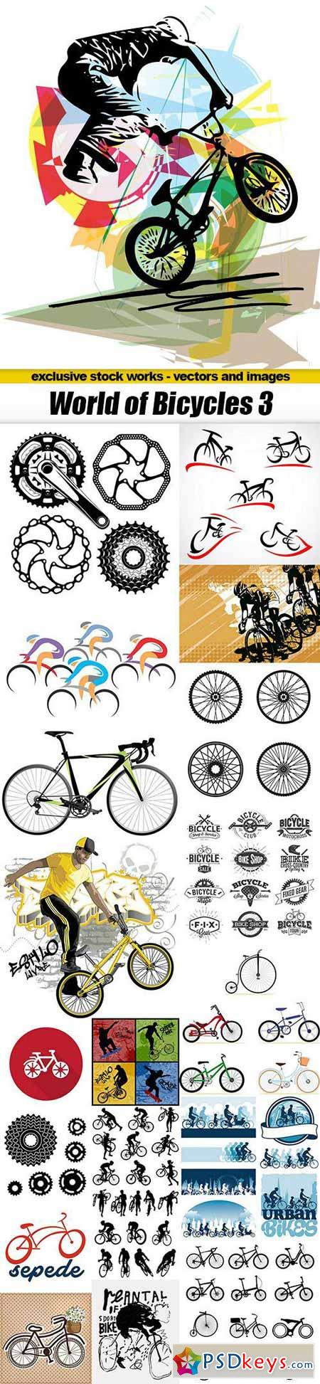 World of Bicycles 3 - 19xEPS, AI
