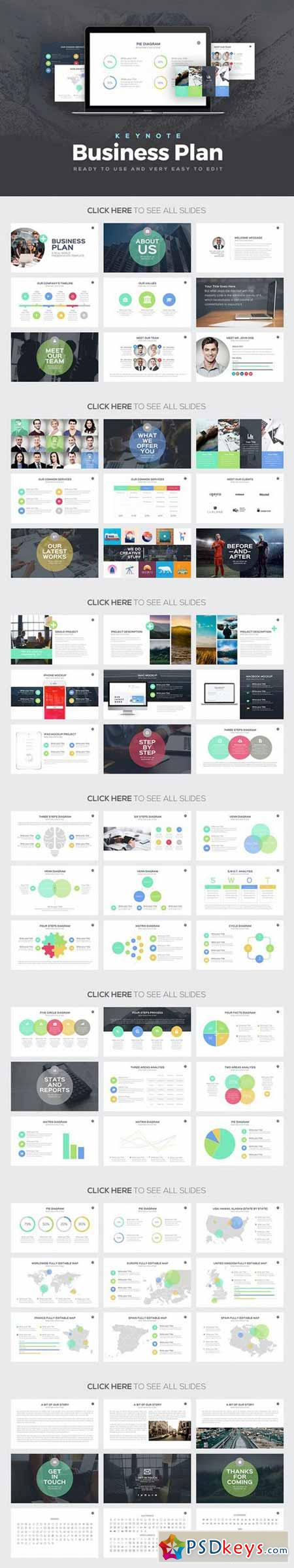 Business Plan Keynote Template Free Download Photoshop - Keynote business plan template