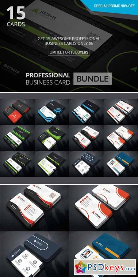 Professional Business Card Bundle 538324