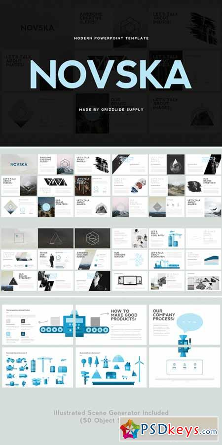 Novska modern powerpoint template 564584 free download for Powerpoint templates torrents
