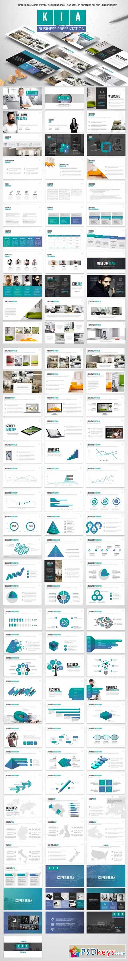 KIA Powerpoint Template 585914
