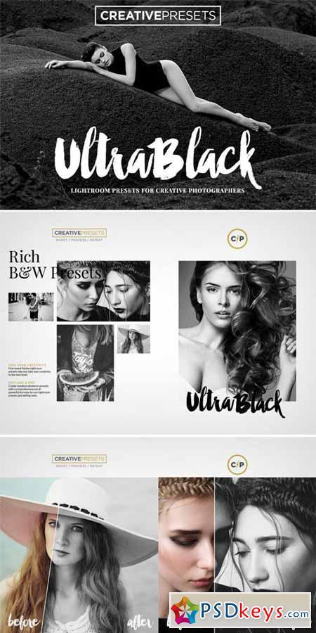 10 UltraBlack B&W Lightroom Presets 324509