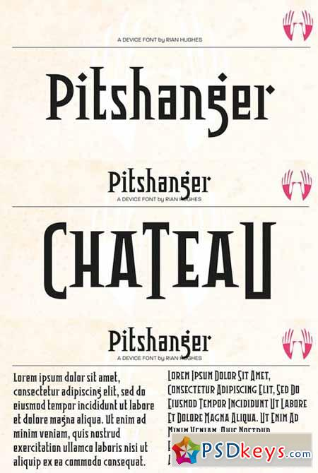 Pitshanger Font Family $69