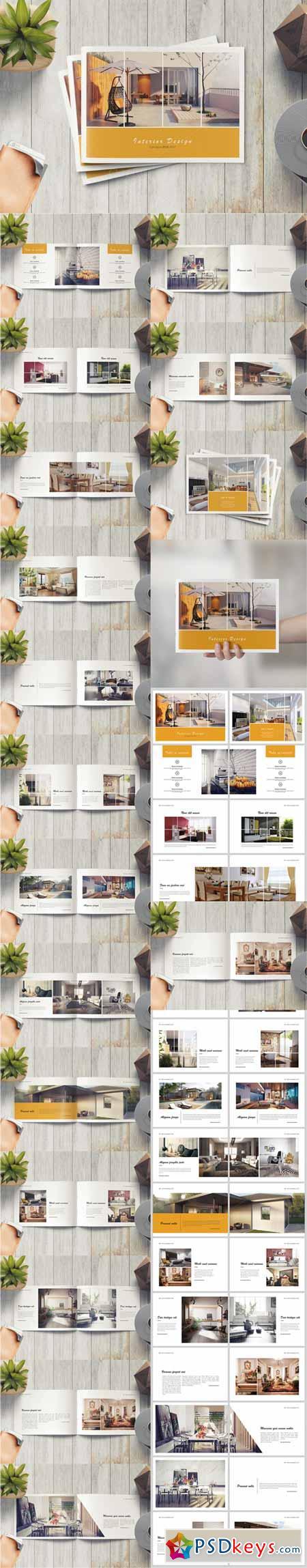 Minimal Product Catalog Brochure 584420