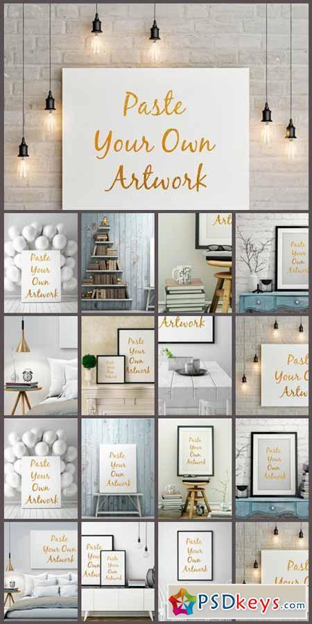 Frame Poster Mockup 517584