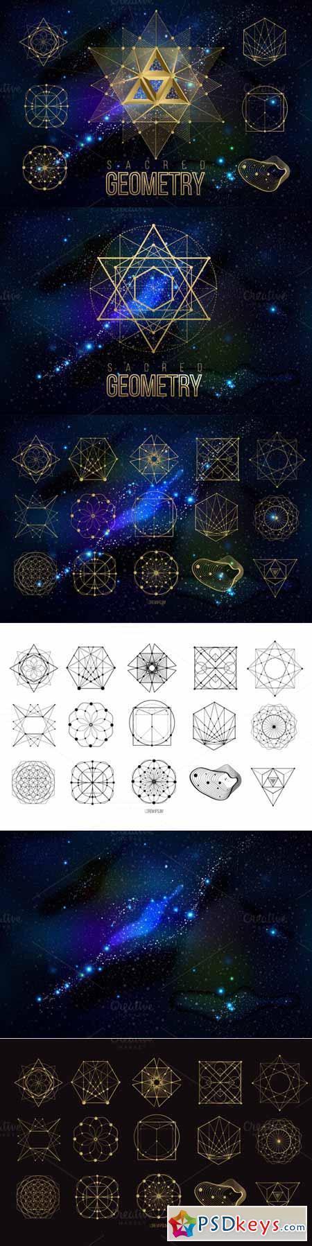 Vector geometry shape 17 574810