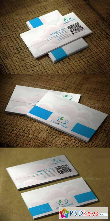 Foodux Business Card Template 591663