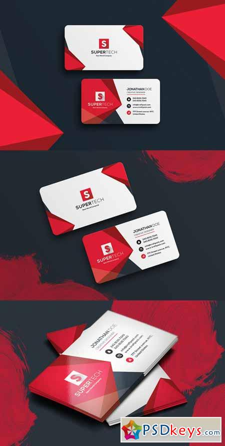 Corporate Business Card #19 587853
